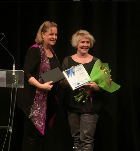 Julie Jellis - 2017 Calisthenics Ambassador of the Year