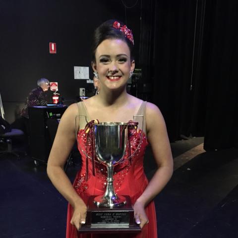 Kat Bast - 2017 Vera Hopton Award winner